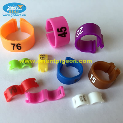 Plastic Open  Ring  for Chicken-12/14mm
