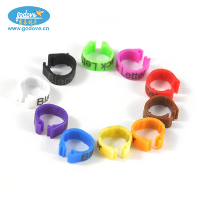 Plastic Open  Ring  for Pigeon/Chicken-16mm