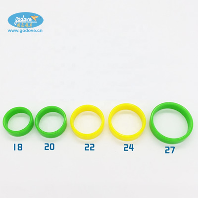 Plastic  Ring for Big Bird/Chicken/Duck(18/20/22/24/27mm)