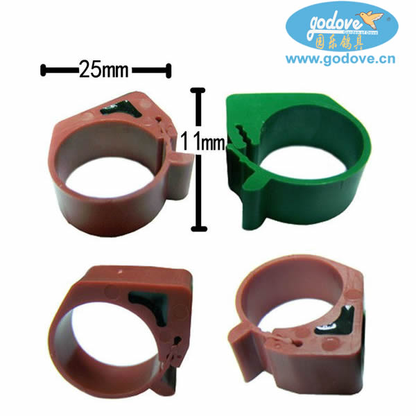 RFID Chicken Ring with TK4100 Chips